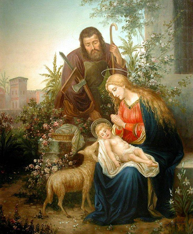 The Athenaeum - The Holy Family (Hans Zatzka)