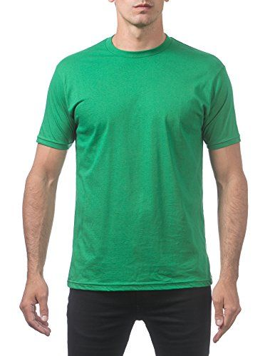 b479ef3de8b Pro Club Men s Comfort Cotton Short Sleeve T-Shirt 3X-Large Apple Green