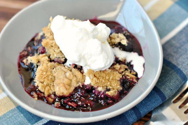 Blueberry Crisp: Summertime Classic