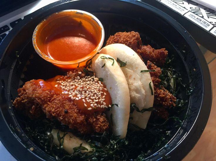 [I ate] Korean Fried Chicken Bao