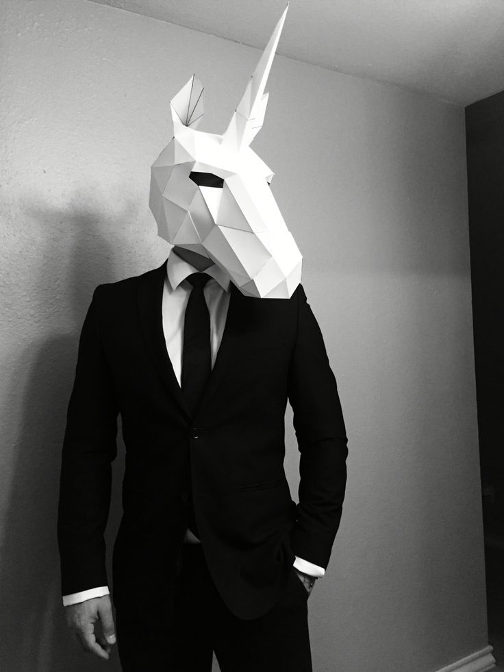 Be yourself. Unless you can be a unicorn. Always be a unicorn. #wintercroft #DIY #masks