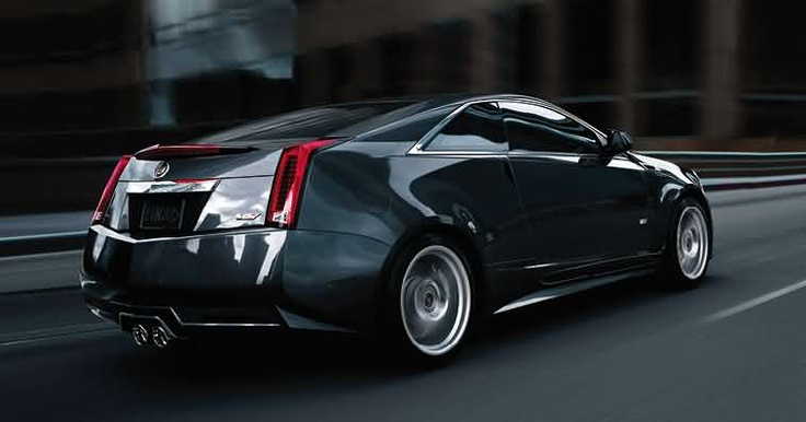 Cadillac CTS-V Coupe. Very nice!