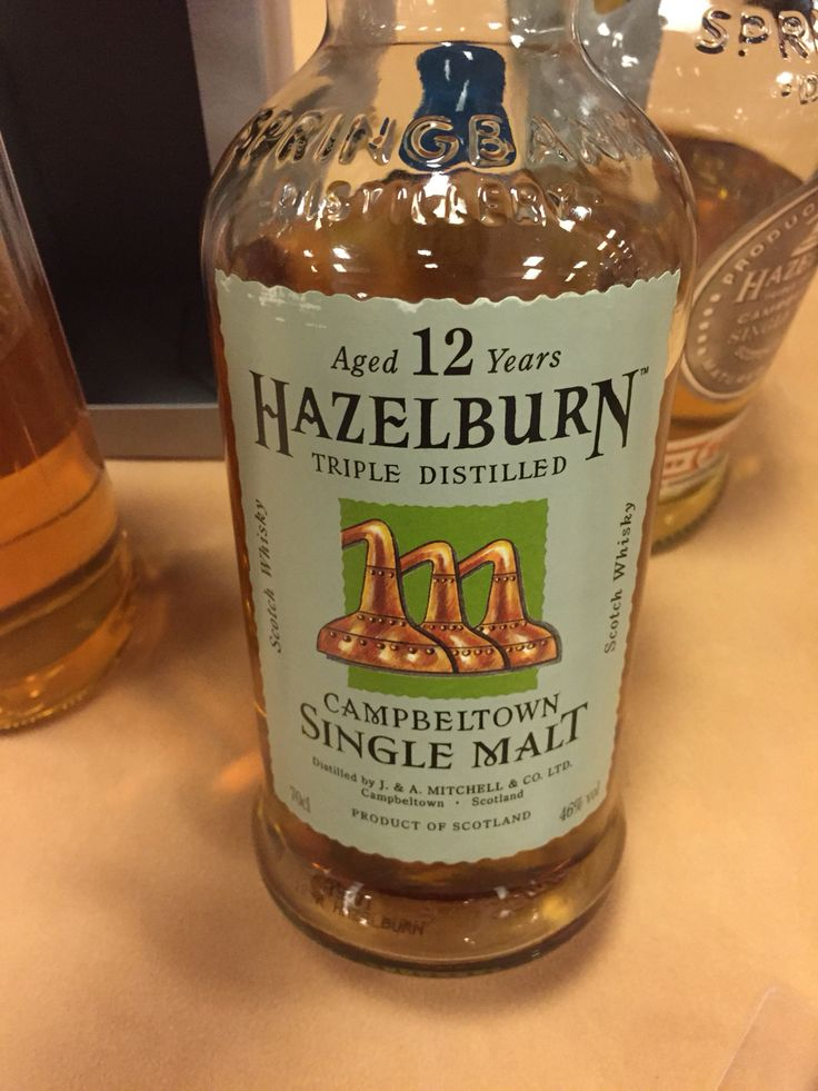 Hazelburn Triple Distilled 12yrs