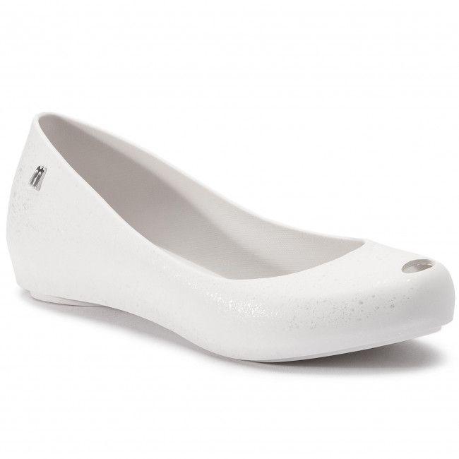 Balerinki Melissa Ultragirl Splash Ad 32534 White Silver 50554 Shoes Clarks Geox