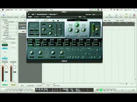 Logic Pro 9 - Loading Samples into EXS24 and Ultrabeat