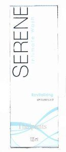New Serene Daily Intemate Wash Revitalizing by Serene. $17.98. Ingredient  Water ,  Sodium laureth sulfate, Propylene Glycol , Cocamidopropyl Betaine , Cocamide DEA , Sodium Chloride , Disodium Cocoamphodiacetate , Phenoxyethanol , Parfum (Fragrace) , Disodium Cocoyl Glutamate , Menthol , Citric Acid , Benzophenone-4 , Soluble Collagen , Hamamelis virginiana (Witch Hazel) water , Mentha Haplocalix Extract , Menthyl Lactate , Sodium Cocoyl Glutamate , Hamamelis virginia...