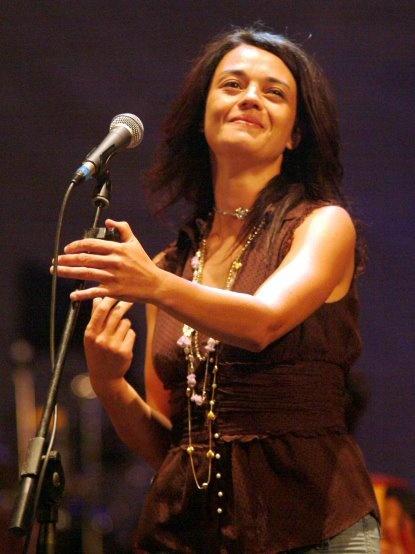 Carmen #Consoli sul palco di #Melpignano per la nona edizione del Festival, era il 2006.    Foto di Ivano Puzzovio