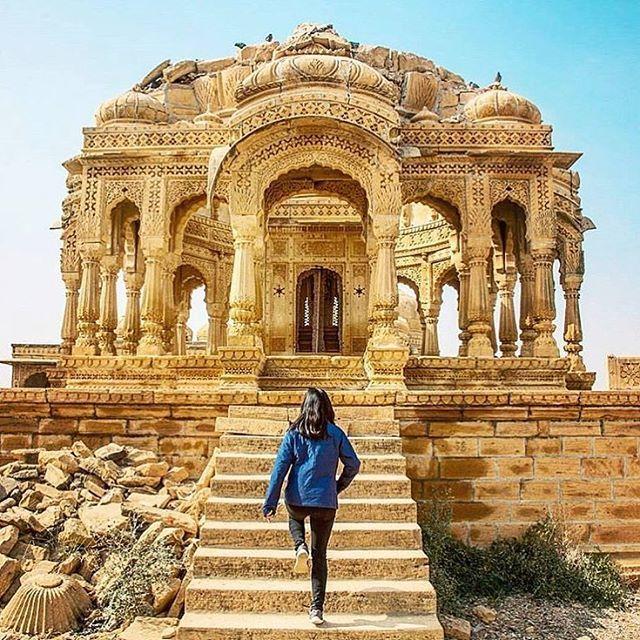 JAISALMER, INDIA.#Jaisalmer - #India Credit: @p.deora  Via: @indian.vacations