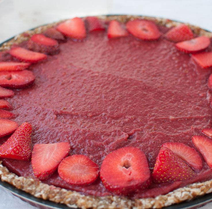 Strawberry Pie (Raw Vegan) Recipe