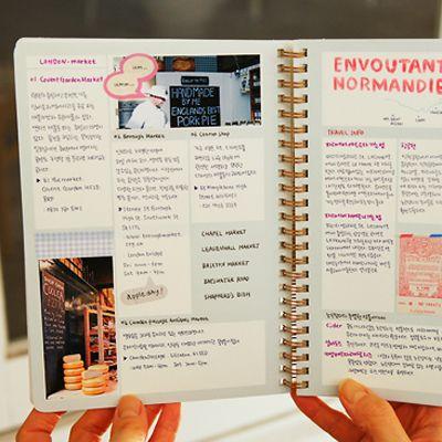 Cool DIY idea... an editorial style journal.