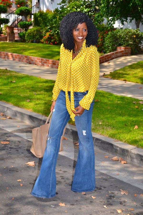 1000+ images about Bell bottom jeans on Pinterest