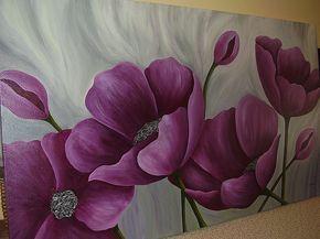 Pinturas, Flores Lilas, Página 172, Arte del siglo XX