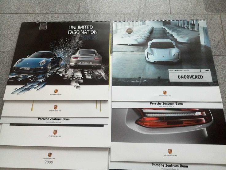 12 Orig. Porsche Kalender 2006 - 2017