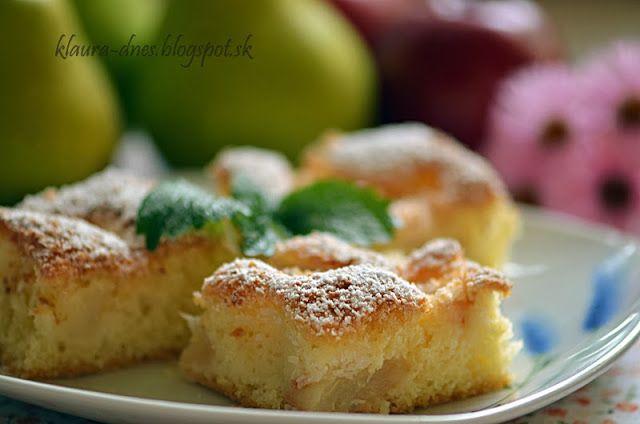 Z mojej kuchyne i fotoaparátu ...: Hruškový koláč s kokosom