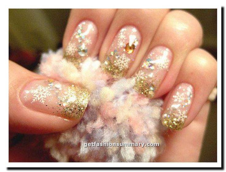 Pink New Year Nail