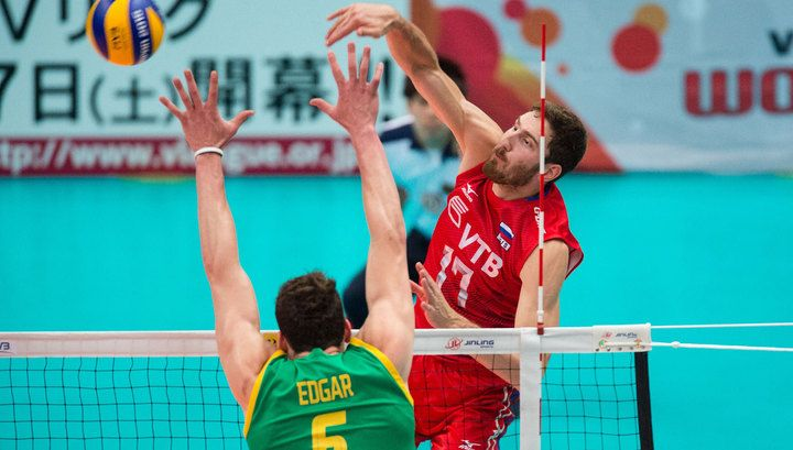 Волейболисты сборной России переиграли австралийцев | 24инфо.рф