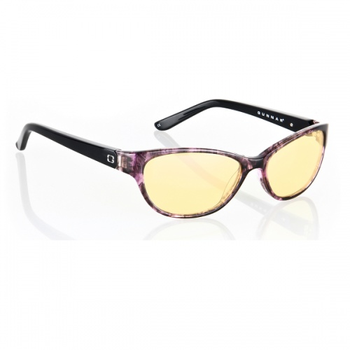 Gunnar Joule Amber Amethyst Indoor Digital Eyewear    A true jem, Joule features handmade materials completed with cutting edge fashion for the discerning digital user. Start the style with a classic cat eye lens. Elevate it to the next level with rich, multilayered acetates that catch light and reflect a myriad of patterns in varying depths. Finish ...