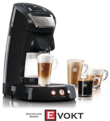 Philips Senseo Latte Select HD7854 Coffee Pod Machine Deep Black Genuine NEW