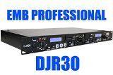 EMB Professional DJR30 1U DUAL USB/SD Digital Player & Recorder Rack Mount - http://djsoftwarereview.com/most-popular-dj-mixers/emb-professional-djr30-1u-dual-usbsd-digital-player-recorder-rack-mount/ #DJMixer, #DJequipment, #PioneerDJ, #Music Mixer, #DJApp, #DJSoftware, #DJTurntables, #DJLighting