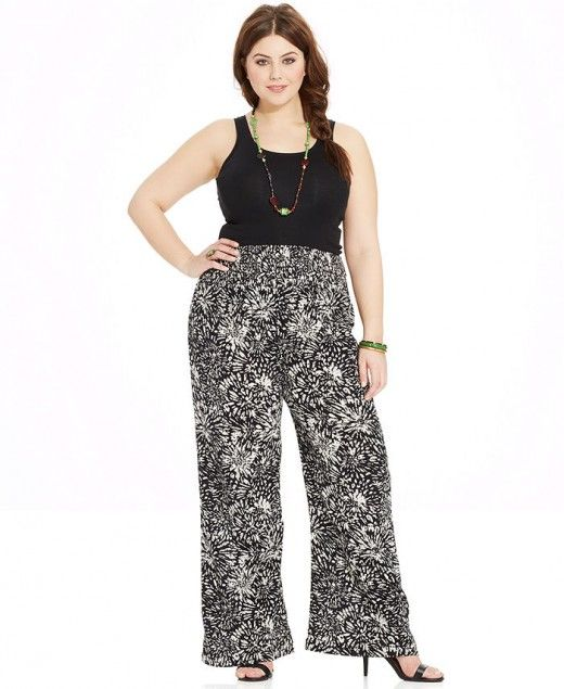 Plus Size Palazzo Pants- Are You a Fan?