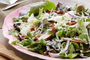 Creamy Balsamic-Pear Salad
