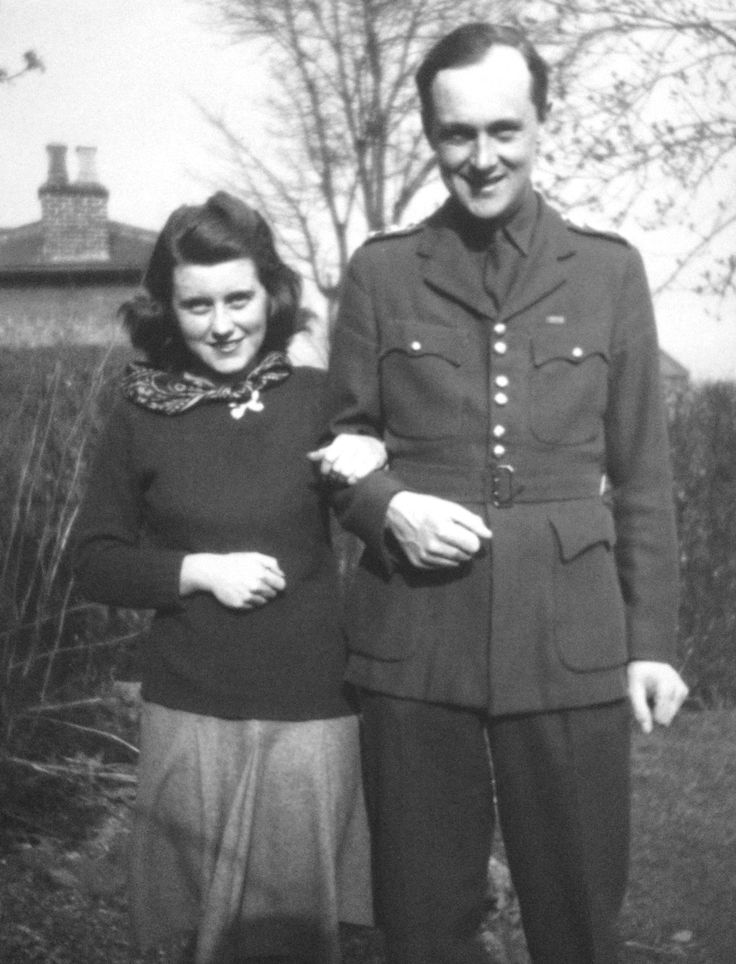 Rose Kennedy's Family Album - Kathleen Kennedy and her future husband, William Cavendish, the Marquess of Hartington, heir to the Duke of Devonshire, c. 1943. ♡❀❁❤❁❤❁❤❁❤❁❤❀♡   http://en.wikipedia.org/wiki/Kathleen_Cavendish,_Marchioness_of_Hartington  http://en.wikipedia.org/wiki/William_Cavendish,_Marquess_of_Hartington  http://en.wikipedia.org/wiki/Kennedy_family