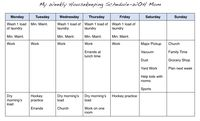 """Home Sanctuary: Setting Up a """"Real World"""" Housekeeping Schedule"""
