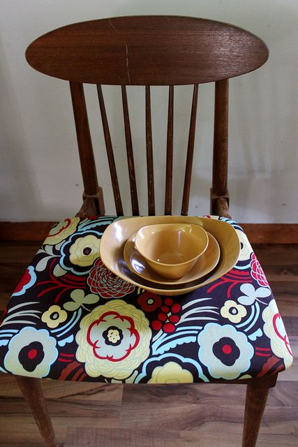 Dining room chair recover