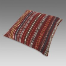Paul Smith For Maharam - Brick And Greige Point Cushion ($175)
