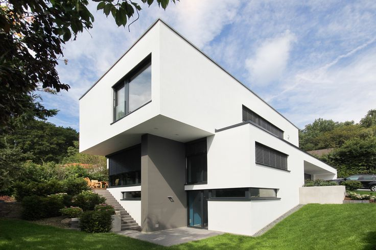 1000 bilder zu moderne h user bauhausstil auf pinterest for Moderne architektur villa