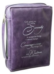 BIBLE/ BOOK CASES: SERENITY PRAYER (BBL507). Available from CUM Books.
