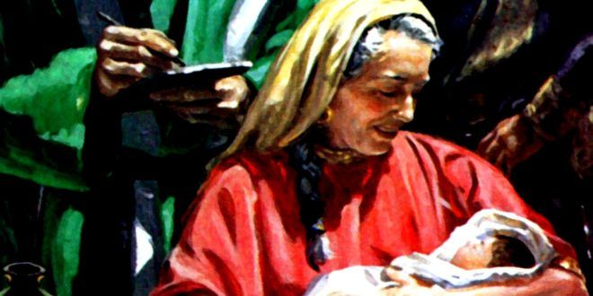 """Clic en la imagen y sigue la reflexión del Evangelio del día  Sábado de la XI Semana del Tiempo Ordinario  Solemnidad de la Natividad de Juan el Bautista  """"La gran misericordia""""   Evangelio según Lucas 1, 57-66.80 Cuando llegó el tiempo en que Isabel debía ser madre, dio a luz un hijo. http://www.cristonautas.com/index.php/evangelio-del-dia-lectio-divina-lucas-1-57-66-80/"""