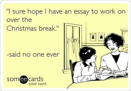 Break time at school essay
