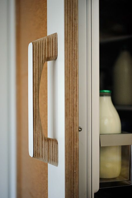 The 25 best ideas about kitchen handles on pinterest for Plywood door design