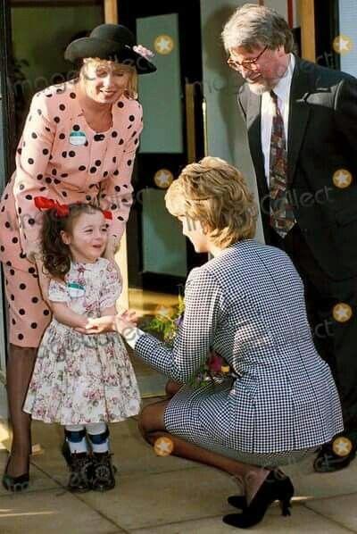 Diana loved children,