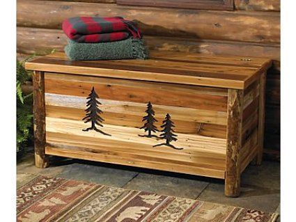 Choose Log Furniture Accessories To Complement Your Log Bed And Other ...  Everything