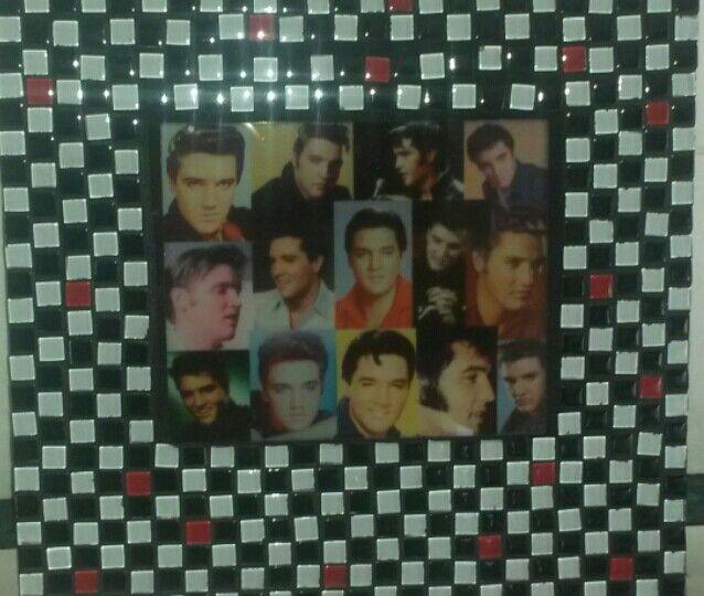 Elvis mosaic