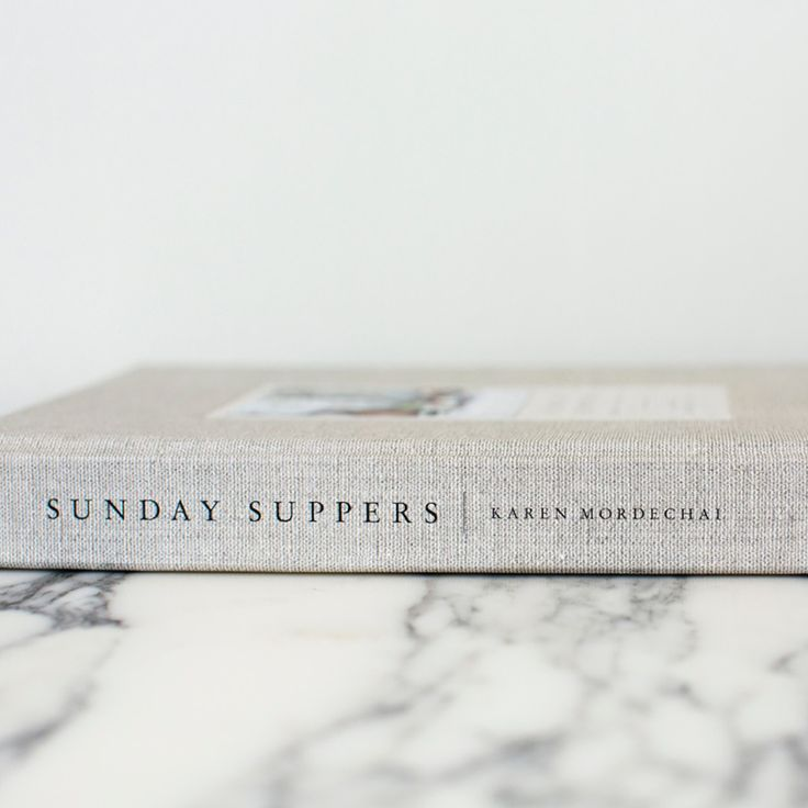 Sunday Suppers cookbook http://www.sunday-suppers.com/shop/sunday-suppers-the-cookbook-recipes-gatherings