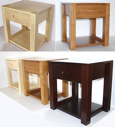Tall Bedside Table