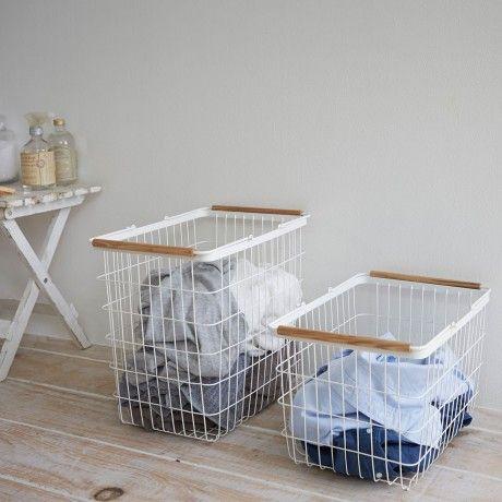 Small Tosca Laundry Basket by Yamazaki designed in Japan #MONOQI