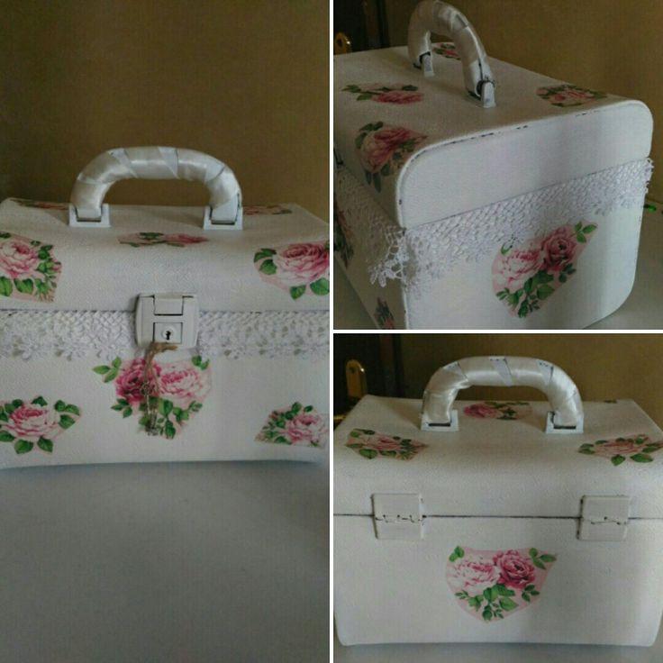 Beauty case shabby