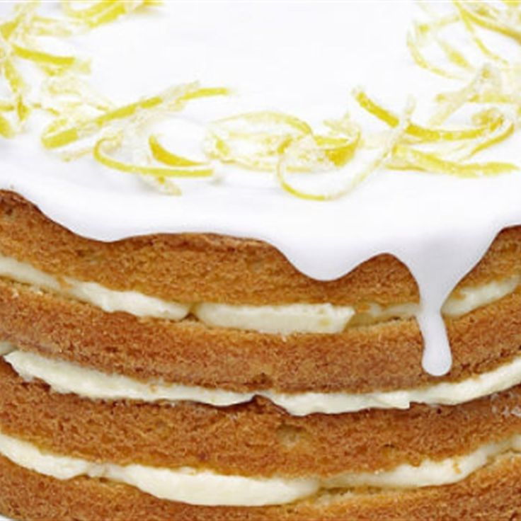 Try this Whole Lemon Cake with Lemon Cheesecake Icing recipe. This recipe is from the show Mary Berry Cooks.