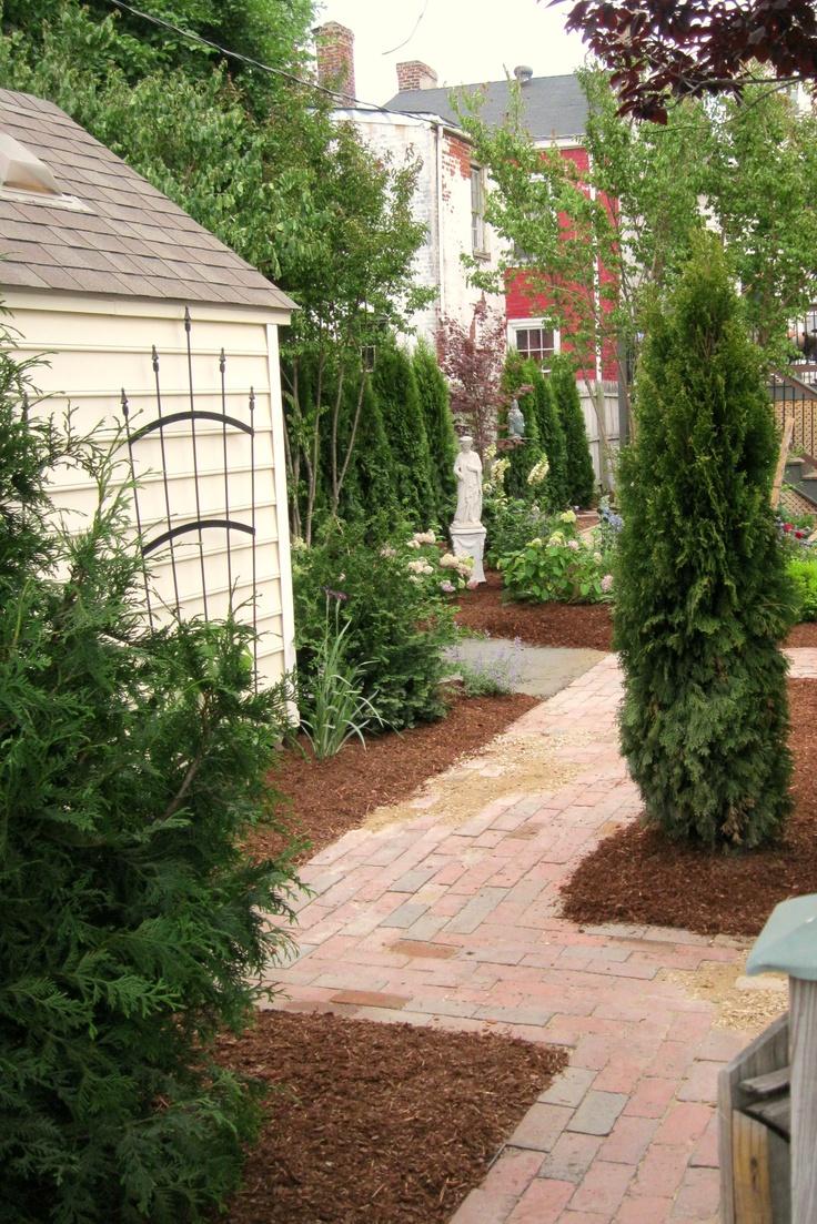 30 best Townhouse images on Pinterest | Backyard ideas, Garden ...