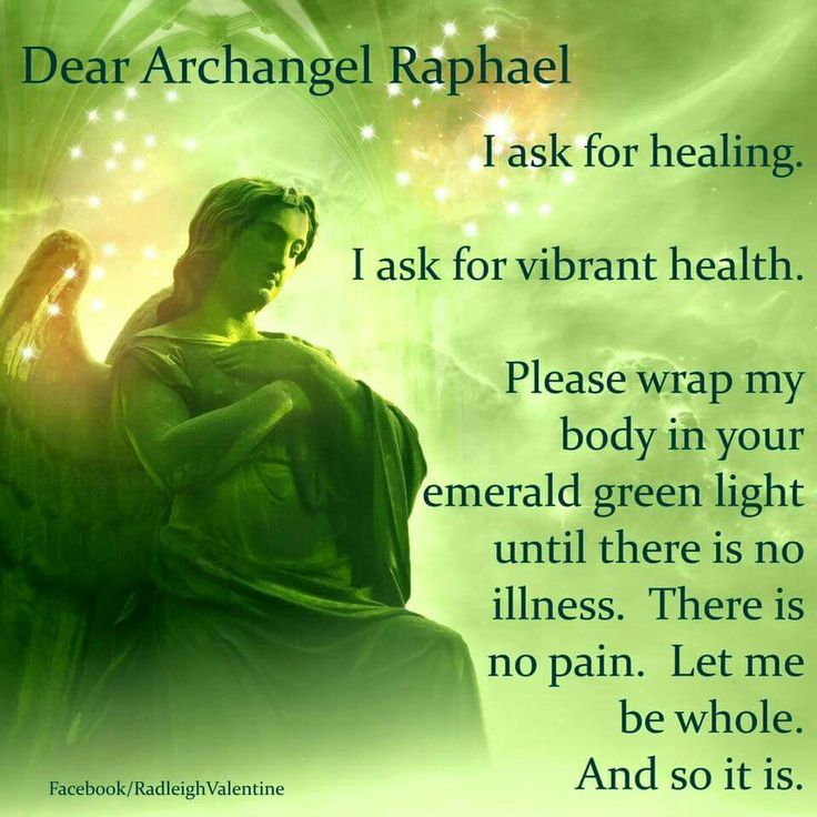 prayer for the gift to heal others and work alongside Raphael, gratitude