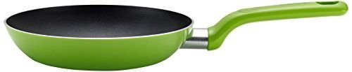T-fal C96802 Excite Nonstick Thermo-Spot Dishwasher Safe Oven Safe PFOA Free Fry Pan Cookware, 8-Inch, Green