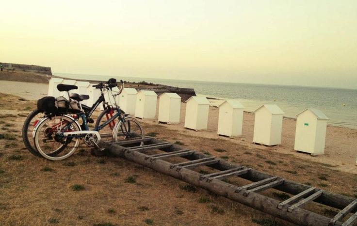 Balades en vélo pour aller à la plage