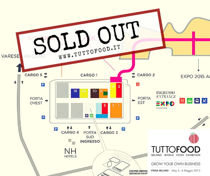 TUTTOFOOD is sold out #Tuttofood2015