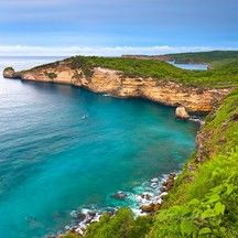 Tanjung Ringgit, High cliff Lombok, Indonesia