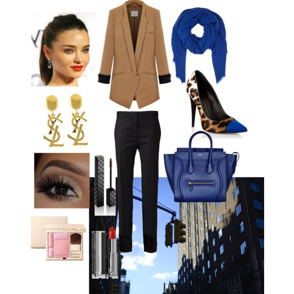 Winter Blues by ruiters-deidre on Polyvore featuring polyvore fashion style MM6 Maison Margiela Giuseppe Zanotti DESTIN Givenchy Gucci Clarins Yves Saint Laurent