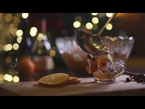 For your next holiday gathering, make this crowd-pleasing spiked punch. Designed (and taste tested) by Head Bartender Grant Sceney, this Cognac punch is perfectly warming on a cold winter night. You'll see smiles all around when it is offered at your festive fête.